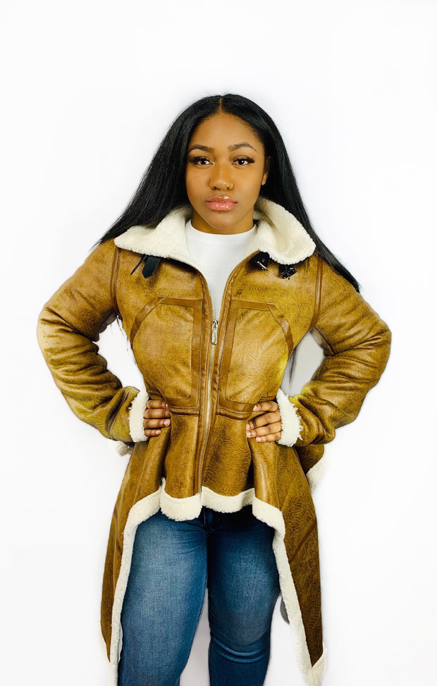 Cookie Faux Shearling Coat