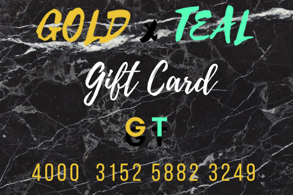 GOLDxTEA Gift Card. The perfect gift for a fashionista.