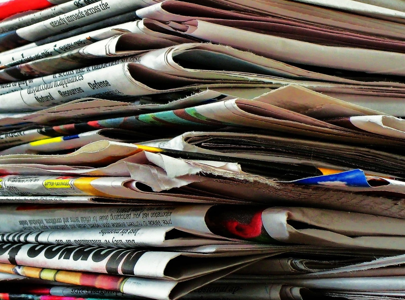 My-stack-of-newspapers