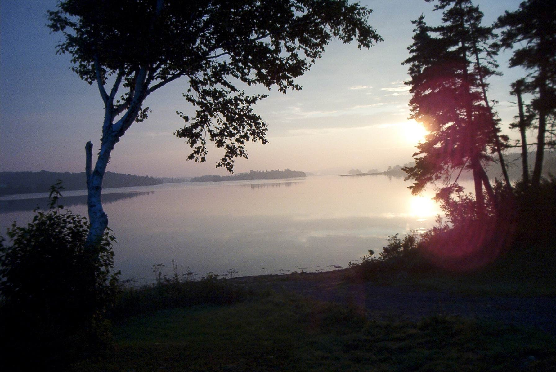 serene-lake-Louisbourg-NS