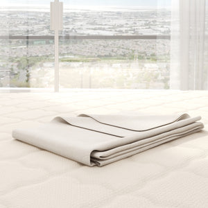 Certified Organic Cotton Flannel Mattress Pad