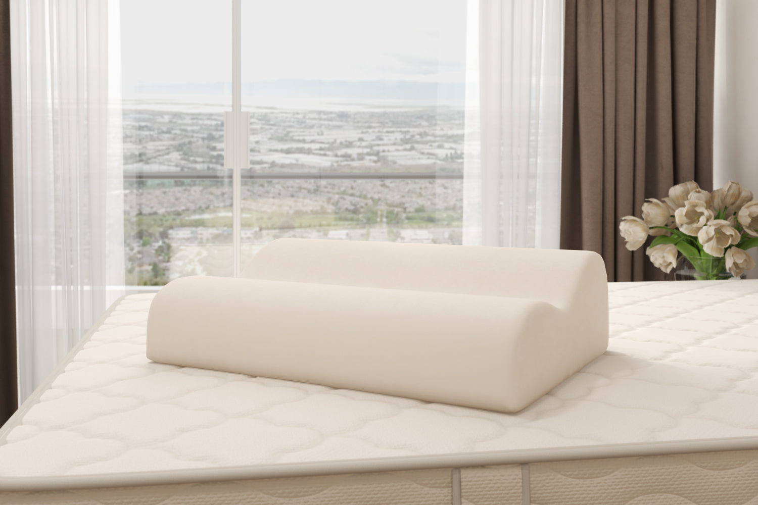 Contour Organic and Natural Latex Pillow