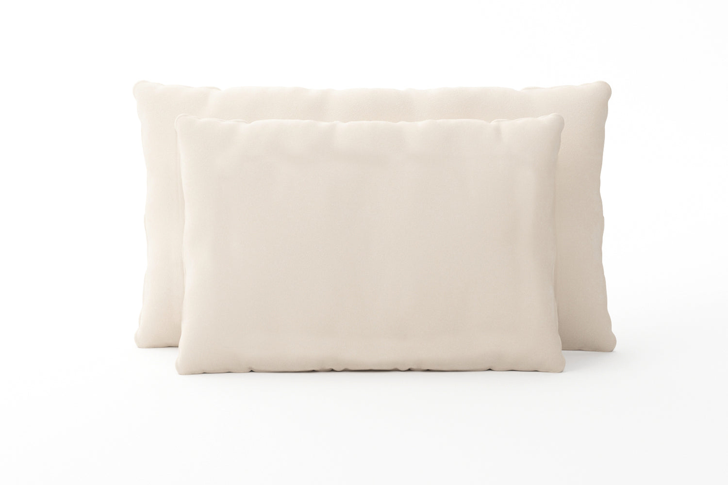 Wool-Wrapped Organic Shredded Rubber Pillow