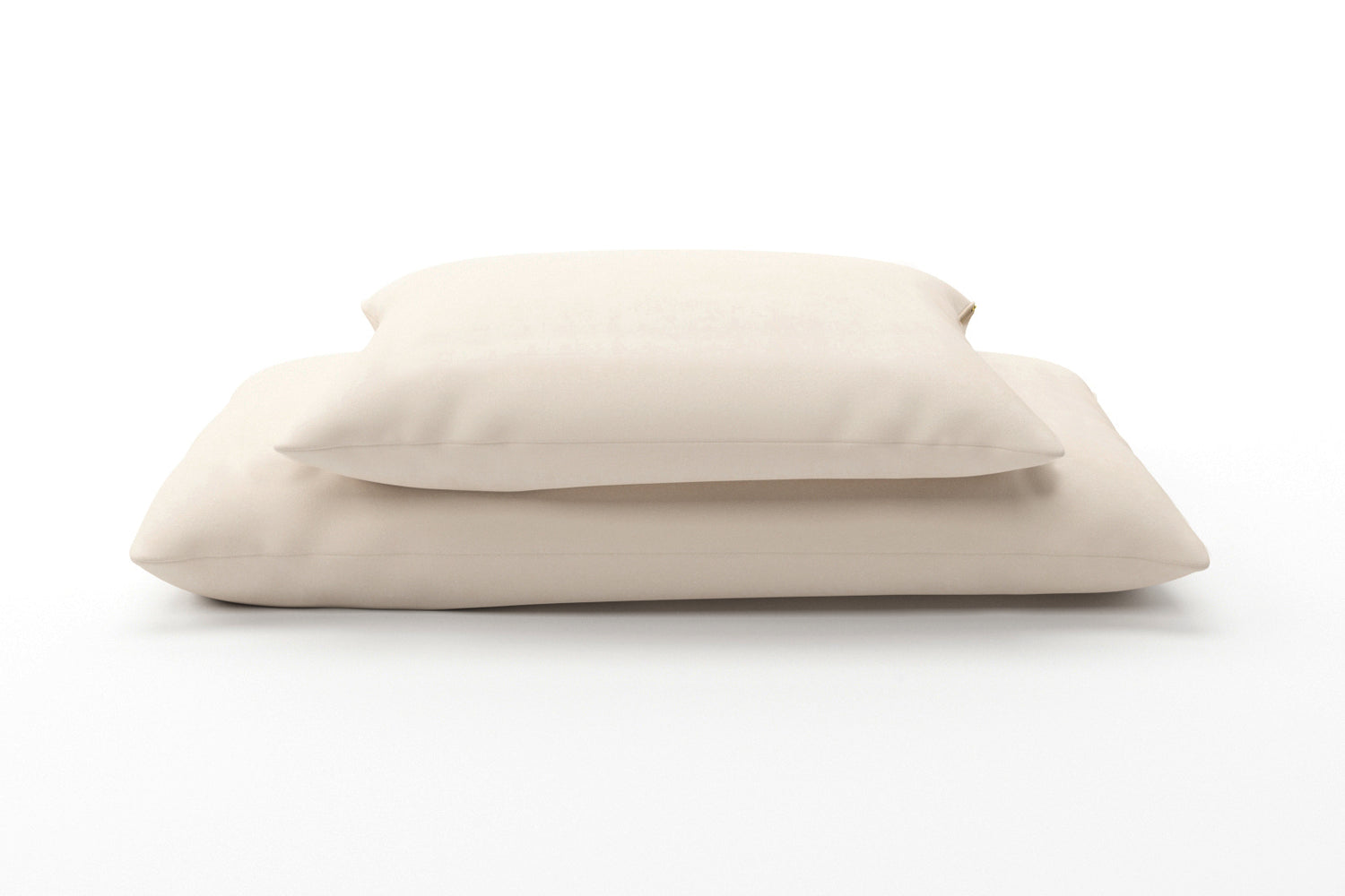 Wool-Wrapped Organic Buckwheat-Hull Pillow
