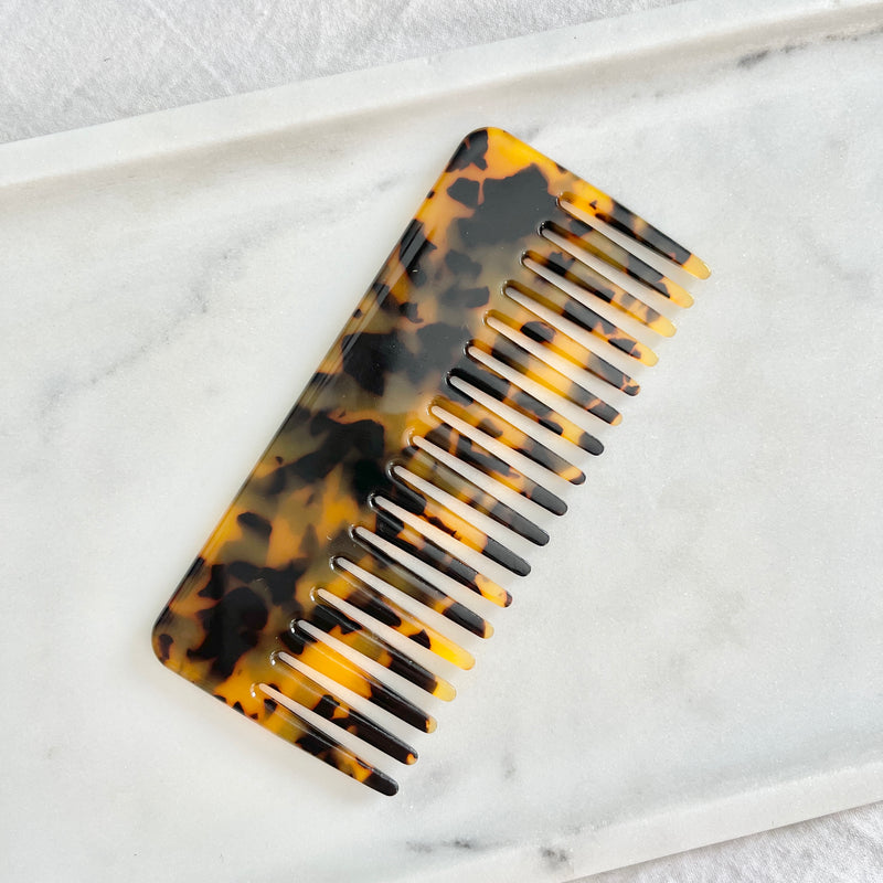 Claw Clip + Comb Set in Tortoise Shell