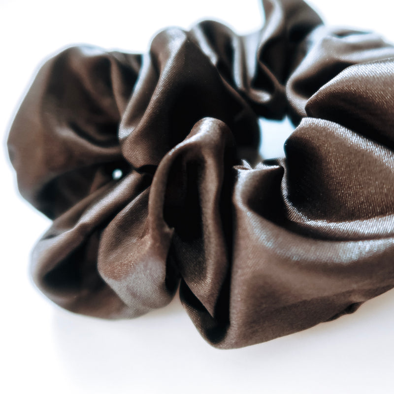 Black Noir Scrunchie
