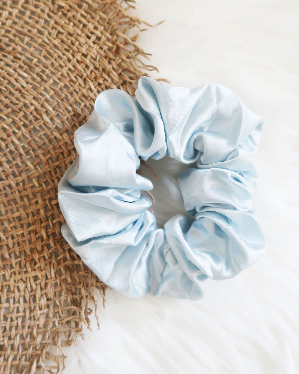 Ocean Blues Scrunchie