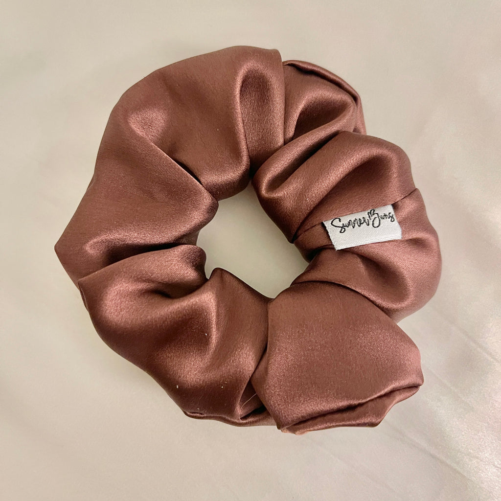 Espresso Brown Scrunchie