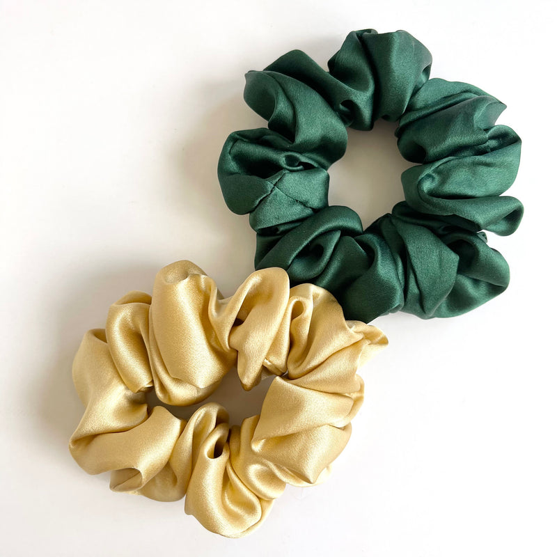Golden Girl Scrunchie