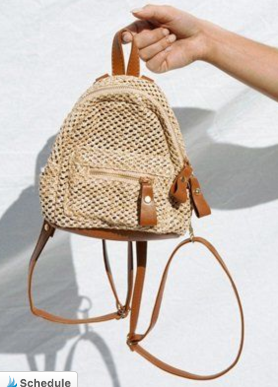 Beachy Mini Backpack