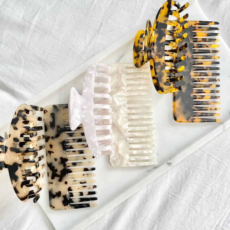 Wanderlust Comb in Cream Tortoise