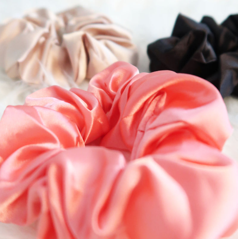 Rosey Pink Scrunchie