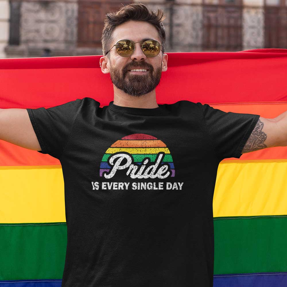 Ally shirt for the lgbt community to celebrate the world pride 2020