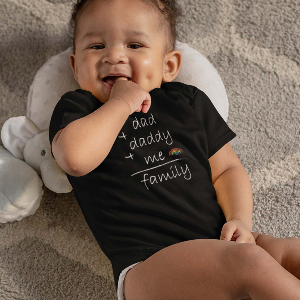 World Pride parade 2020 baby bodysuit onesie for LGBTQ family