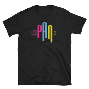 exPANd  - Pansexual Pride Short-Sleeve Unisex T-Shirt