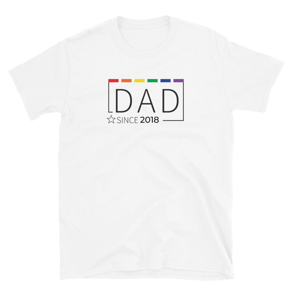 DAD Since Customized T-Shirt