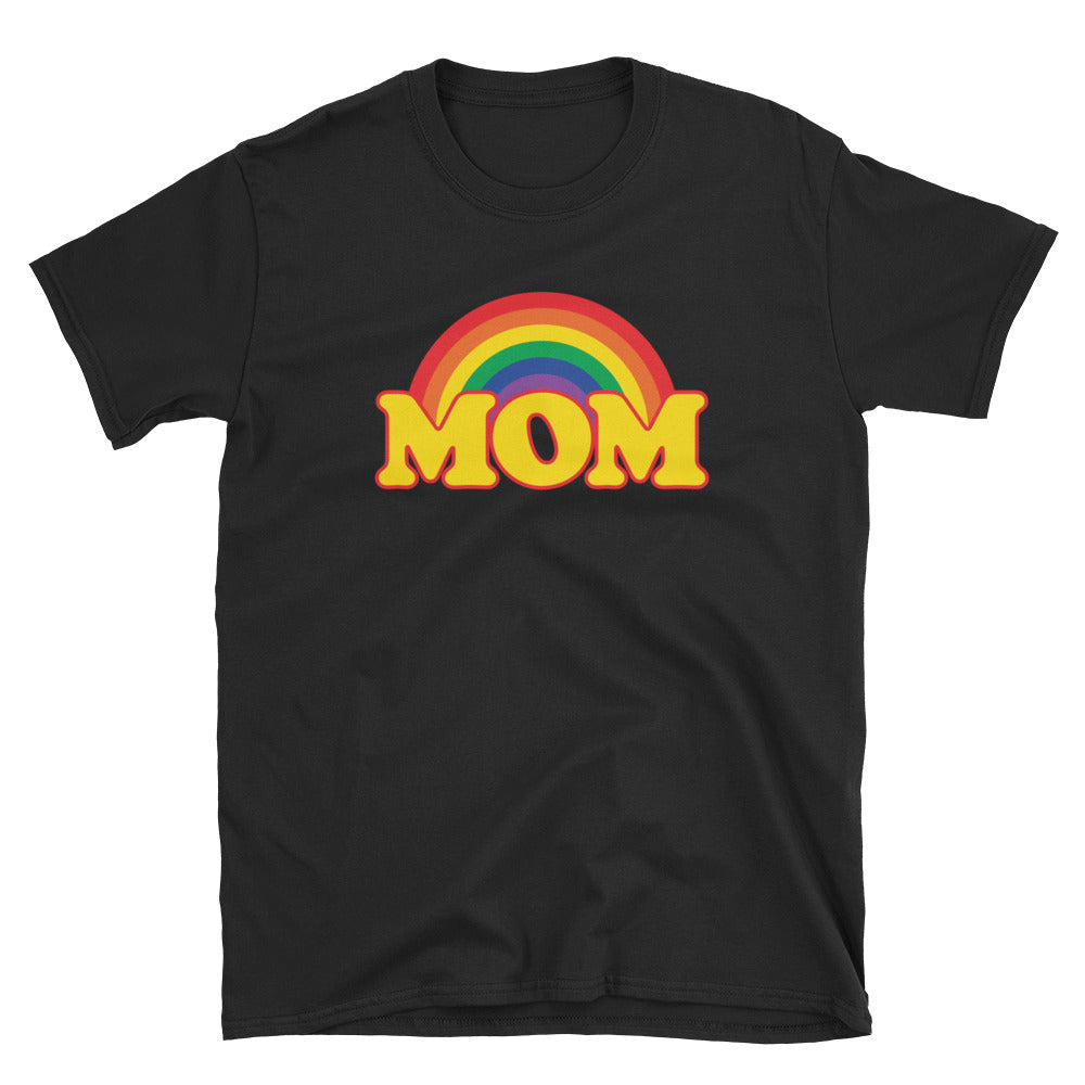Rainbow MOM Short-Sleeve Unisex T-Shirt