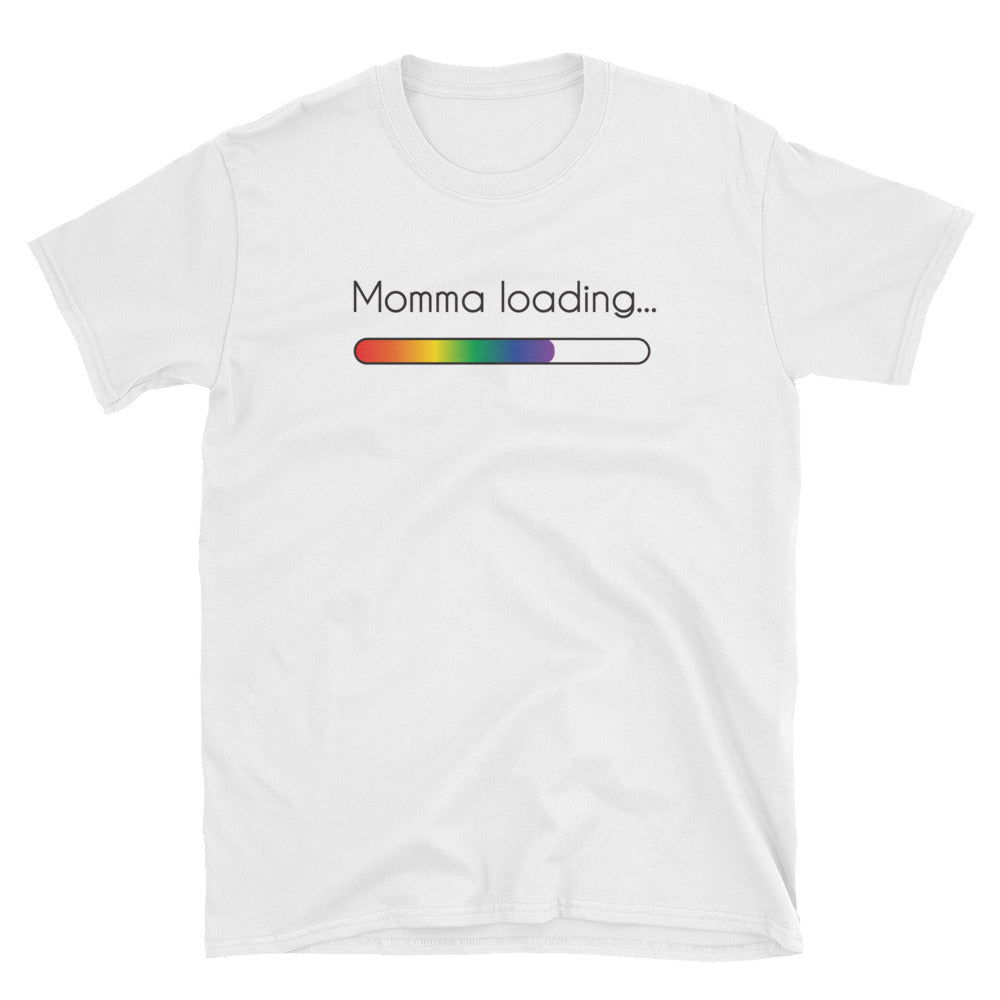 Momma Loading Short-Sleeve Unisex T-Shirt
