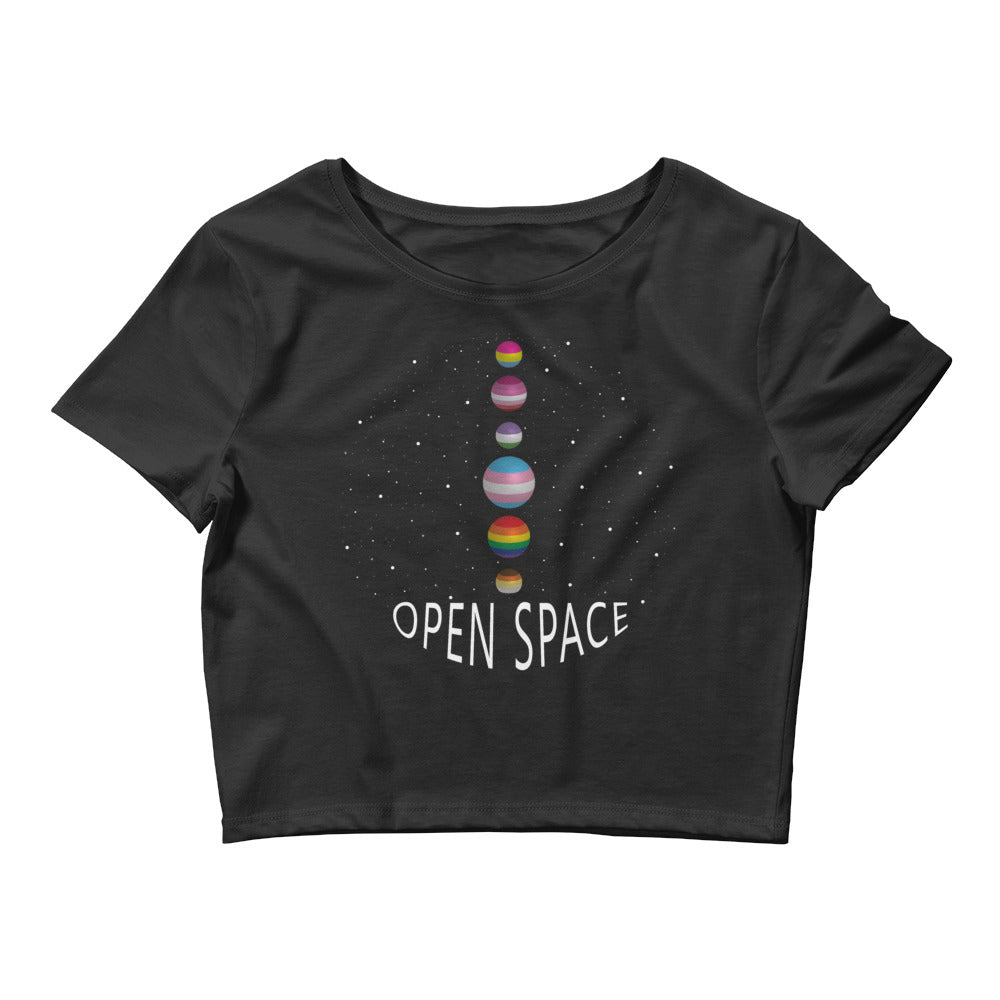 Open Space LGBTQ+ Crop Tee