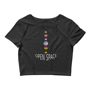 Open image in slideshow, Open Space LGBTQ+ Crop Tee