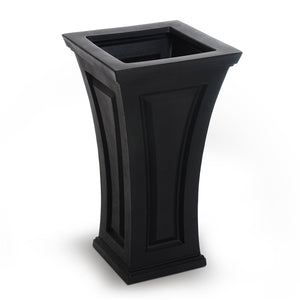Ellis Tall Outdoor Planter Highwood USA Coal