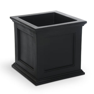 Beckett Patio Planter 20in x 20in Highwood USA Coal