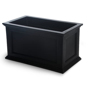 Beckett Patio Planter 20in x 36in Highwood USA Coal