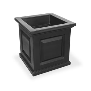 "Windsor 16"" x 16"" Outdoor Planter Highwood USA Coal"