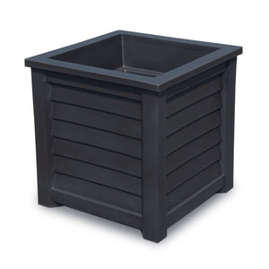 "Harlowe 20"" x 20"" Outdoor Planter Highwood USA Coal"