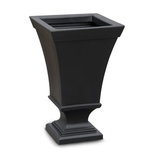 "Tahlia 25"" Tall Urn Outdoor Planter Highwood USA Coal"