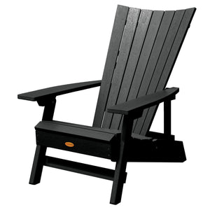 Manhattan Beach Adirondack Chair Highwood USA Black