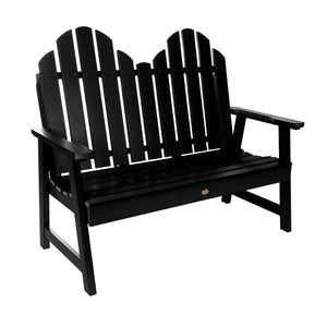 Classic Westport 4ft Outdoor Garden Bench Highwood USA Black