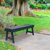 Weatherly Picnic Backless Bench - 4ft BenchSwing Highwood USA