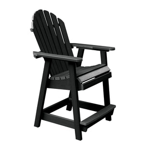 Hamilton Deck Chair in Counter Height Dining Highwood USA Black