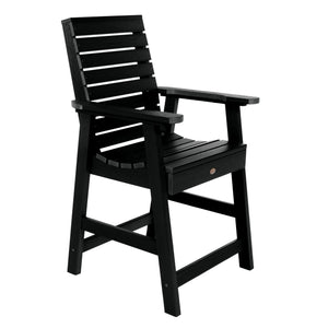 Weatherly Armchair - Counter Dining Highwood USA Black