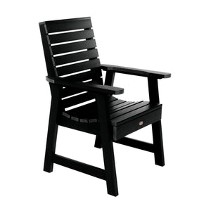 Refurbished Weatherly Armchair - Dining Dining Highwood USA Black