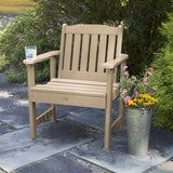 2 Lehigh Garden Chairs with Folding Adirondack Side Table Highwood USA