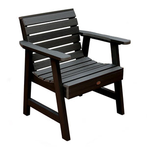 Weatherly Garden Chair Highwood USA Black
