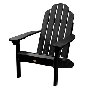 Classic Westport Adirondack Chair Highwood USA Black