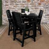 Weatherly 5pc Square Dining Set 42in x 42in- Counter Height