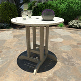 Round 36in Diameter Dining Table - Counter Height Dining Highwood USA