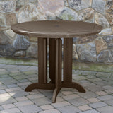Hamilton 5pc 48in Round Dining Set - Counter Height