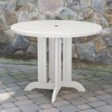 Weatherly 5pc 48in Round Dining Set - Counter Height