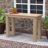 Sideboard Table 22in x 54in - Counter Height