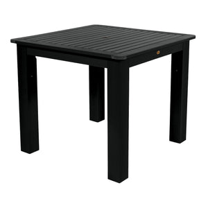 Square 42in x 42in Dining Table - Counter Height Dining Highwood USA Black