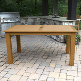 Rectangular 42in x 72in Outdoor Dining Table - Counter Height Dining Highwood USA
