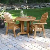 Hamilton 3pc 36in Round Dining Set - Dining Height Dining Highwood USA