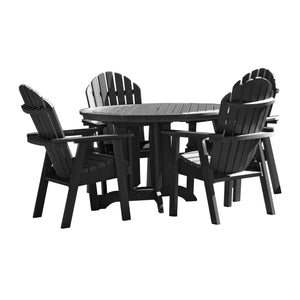 Hamilton 5pc 48in Round Dining Set - Dining Height