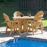 Hamilton 5pc 48in Round Dining Set - Dining Height Dining Highwood USA