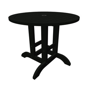 Round 36in Diameter Dining Table - Dining Height